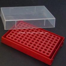 Caja de tubo centrífuga para 0.2ml 96 pozos