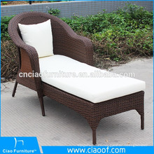 Outdoor Hotel Rattan Pool Lounger Bed