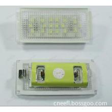 License Plate Lamp LED 18SMD high bright Light kit for BMW E46 2D