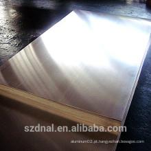 Liga de alumínio usado para aplicação a cabo preço barato folha de alumínio 3003 H14