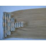 "Best Quality Blonde Color 180gram/Set Clip in Rmey Hair Extension18-24"""