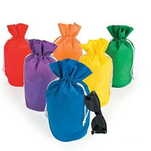 Wholesale promotional supplier new product non woven drawstring pouch