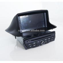 Fabricant Android Voiture GPS DVD Radio Stéréo pour Renualt Megane 3 Fluence 2014 avec Bluetooth / SWC / Virtuel 6CD / 3G / ATV / iPod