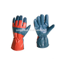 Sunnyhope Gants de ski imperméable à l'eau nitrile, gants de travail