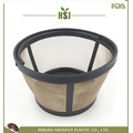 Permanent Basket Style Gold Tone Coffee Filter