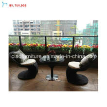 C-Leisure Rattan Coffee Table and Chairs (CF957)
