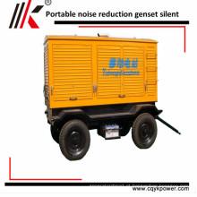 Preço diesel do gerador 30KVA 50kva 60kva 100kva 150kva da prova sadia móvel