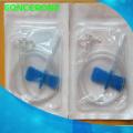 Scalp Vein Set Butterfly Conjuntos de infusión con tapa