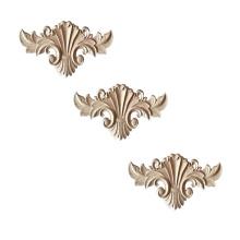 Retro wood solid wood  Ornament Applique carving