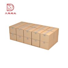 Bulk wholesale 5 layer custom printed folding corrugated cardboard packaging box