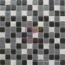 Grey Glass and Stone Mosaic (CS241)