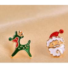 Weihnachtsschmuck / Weihnachtsohrring / Weihnachtsvater (XER13363)