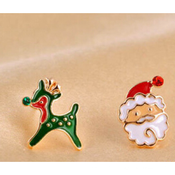 Jóias de natal / brinco de natal / natal pai (xer13363)