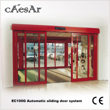 Shop framed automatic sliding door with sensor glass