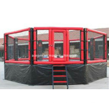 Equipamento de ginásio lutando gaiola do MMA