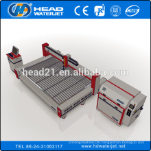 Glass waterjet cutting machine 2030 with 380Mpa intensifier pump