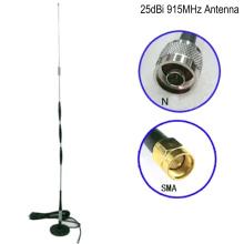 Alta calidad 25dBi GSM 915MHz 3G omni Large Sucker Antena