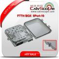 High Quality FTTH 8p-10 Fiber Optic Terminal Box/Distribution Box