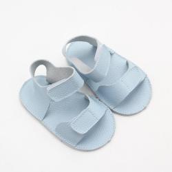 Blue Cute Genuine Soft Sole Baby Sandals