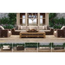 BORA BORA - Hot trendy 2017 UV-Beständigkeit Wicker PE Rattan Outdoor Living Sofa Sets für Gartenmöbel