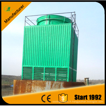Xinxiang Jiahui FRP 100 t tour de refroidissement à écoulement transversal carré