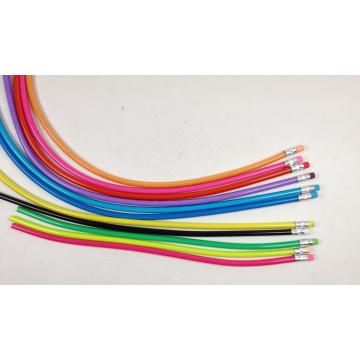 Bendy Twist Pencil, Soft PVC Pencil, Flexible PVC Pencil for Promotion