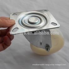 100mm white Nylon industrial caster wheel