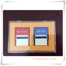 Self Inking Roller Stamp Set for Promotional Gifts (OI36019)