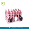 pink decoration cosmetic hairbrush gift set