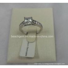 Ювелирные изделия белый кубический цирконий кольца (SAM_5926)