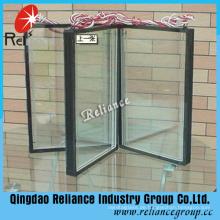 Isolierglas / Hohlglas 6mmclear + 9A / 12A / 14A / 16A + 6mm Grau / Fensterglas / Niedriges E Isoliertes Glas