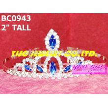 Симпатичные самые продаваемые простые кристаллические короны и тиары