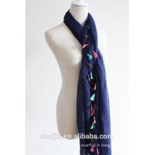 Fashion new arrival laies soleil beach sarong foulard