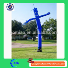outdoor blue air dancer,sky dancer for advertising