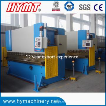 Máquina de dobra de placa de aço hidráulica WC67Y-63X3200 / Prensa dobradeira hidráulica