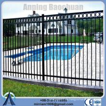 Anping Factory Qualität galvanisierten Zaun Stecker, Stahl Garten Zaun qingdao, dekorative Garten Zaun