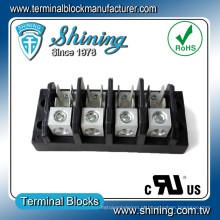 TGP-050-04A 600V 50A 4 Pole Tab Connect Terminal Block Connector