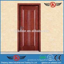 JK-SD9002 safety wooden door design interior solid wood door