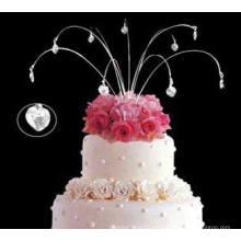Colgante, chispa, joyería, boda, pastel, topper