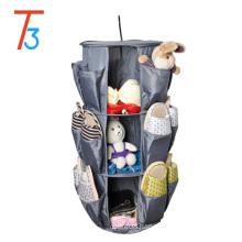 Smart Carousel Round Organizer New Hanging Cabinet Shoe Closet Storage