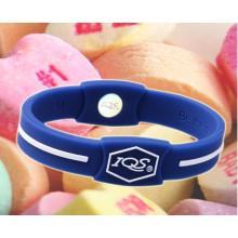 2016 nova moda barata magnética wristband do silicone