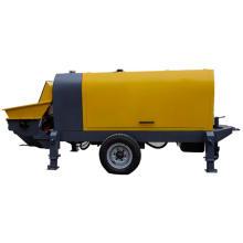 Electric mobile fine stone concrete mortar pump
