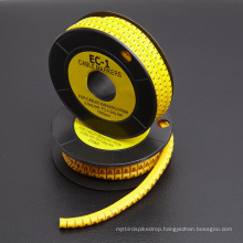 Cable Markers (yellow, PVC)