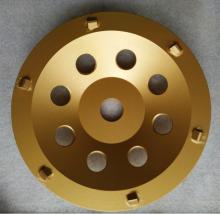 7 inch PCD 1/4 bánh xe Cup đối diện sắc nét