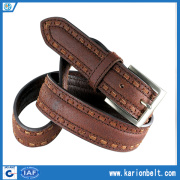 Man's Genuine Leather Belt (35-1568B)