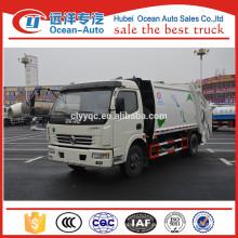 Dongfeng 8CBM gebrauchter Müllwagen zum Verkauf