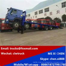 Direto de fábrica Sinotruk 8 X 4 caminhão cama baixa