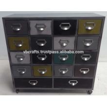 vintage industrial drawer cabient