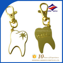Beautiful elegant teeth shape key chain with super quality