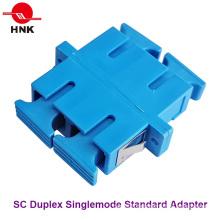 Sc Duplex Singlemode Standard Faseroptik Adapter